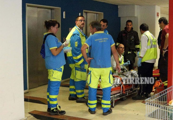 Incidente sul lavoro - Incastrato da un ascensore