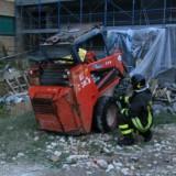 Incidente sul lavoro -decapitato dal bobcat